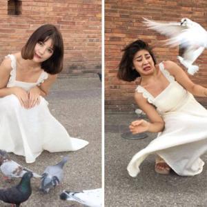 【これがリアル!?】インスタグラム写真VS現実写真を表現した女性