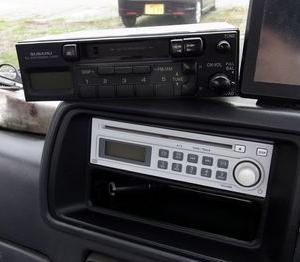ラジオが壊れました