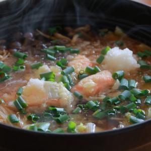 鮭の天ぷらおろし鍋ヽ(*´∀`)