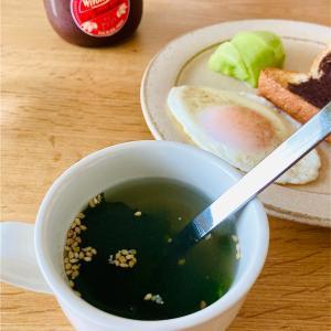 忙しい時のずぼらワンカップ♪中華ワカメスープ