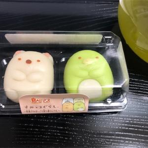 話題のすみっこぐらしの和菓子
