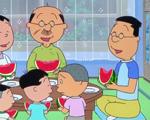 【アニメ】『サザエさん』マスオ役41年・増岡弘の最後のせりふは笑顔で「あはは」 家族全員でスイカ食べる