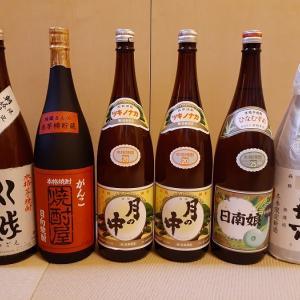 宮崎産芋焼酎 ソムリエさんが選んだ「月の中」、「川越」....味わい深い銘酒をご紹介します