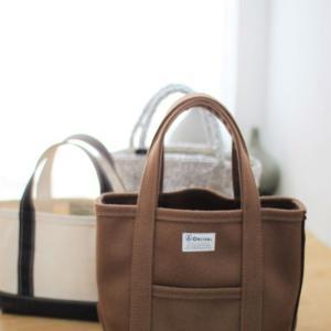 ORCIVALのメルトントートバッグで小物も秋色投入