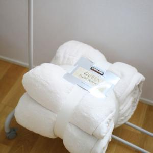 COSTCOでQUEENサイズのマイクロファイバー毛布を新調
