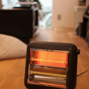 暖房器具出しました。