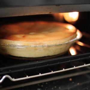 毎年焼くりんごのケーキ、ヨーグルトポムポム