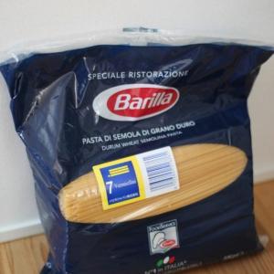 家ごもり生活の大発見。5㎏入りのスパゲッティ。