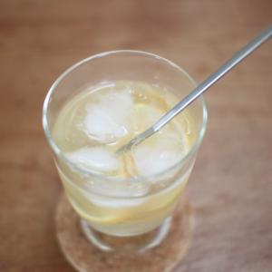 冷凍レモンで夏のドリンク