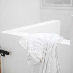 暑かったり涼しかったり、寒暖差のある日に頼りになる無印のシャツワンピ
