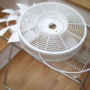 ある日のちょこっと家事。バルミューダ扇風機の掃除。