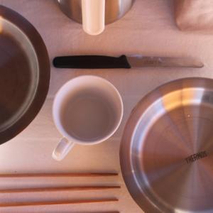 「まほうびん食器?」サーモスの愛用キャンプ用食器と気になる新商品。