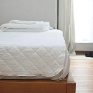 夏の寝具に追加購入したパシーマのキルトケット
