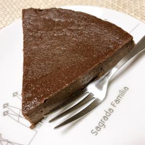 ヘルシーで美味しい!お豆腐チョコケーキ作りました♪