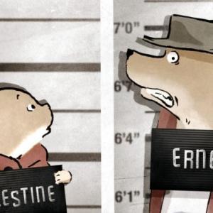 """「くまのアーネストおじさんとセレスティーヌ」""""Ernest and Celestine""""(2012)"""
