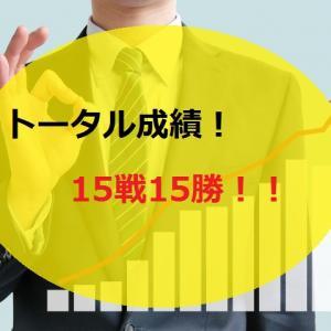 【2019.12/16~】FX無料配信サービス配信結果【15戦15勝】