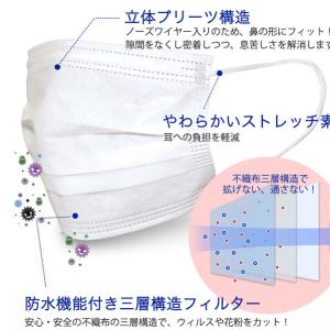 【マスク販売】マスクの効果と正しい使用方法