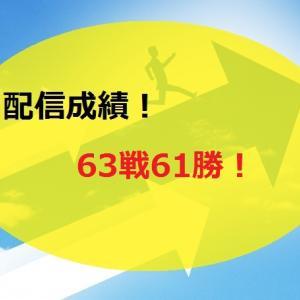 【2020.5/11~】FX無料配信サービス配信結果【63戦61勝】