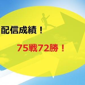 【2020.6/8~】FX無料配信サービス配信結果【75戦72勝】