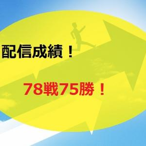 【2020.6/15~】FX無料配信サービス配信結果【78戦75勝】
