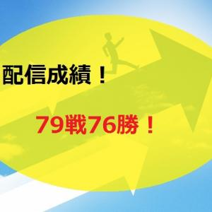 【2020.6/15~】FX無料配信サービス配信結果【79戦76勝】