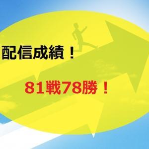 【2020.6/29~】FX無料配信サービス配信結果【81戦78勝】