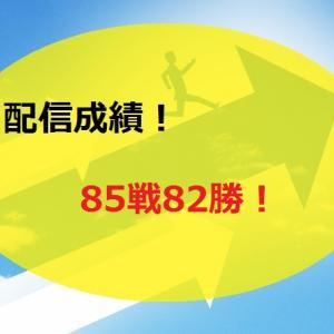 【2020.7/20~】FX無料配信サービス配信結果【85戦82勝】