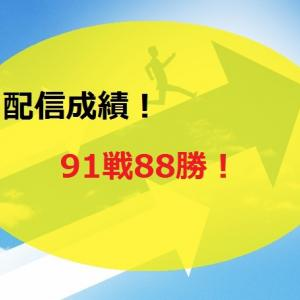 【2020.8/17~】FX無料配信サービス配信結果【91戦88勝】