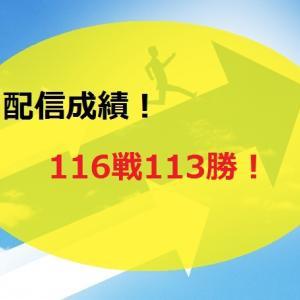 【2020.11/9~】FX無料配信サービス配信結果【116戦113勝】