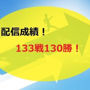 【2021.1/11~】FX無料配信サービス配信結果【133戦130勝】