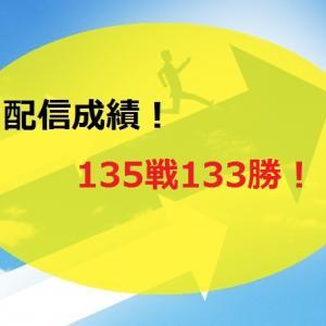 【2021.1/18~】FX無料配信サービス配信結果【135戦132勝】