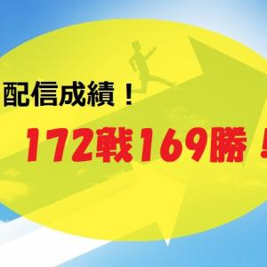 【2021.6/7~】FX無料配信サービス配信結果【170戦167勝】