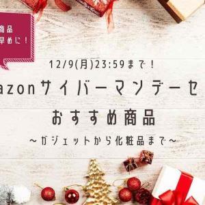 Amazonサイバーマンデーおすすめ(PC/ドラレコ/クレンジングバームetc…)