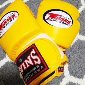 【キックボクシング初心者おすすめ】フックの時親指が痛いから、アマゾンでツインズのボクシンググローブを買ってみた。