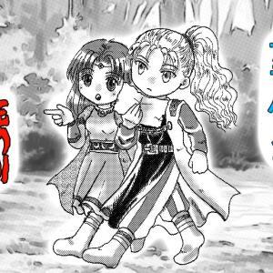 【ロマサガRS】ガラハドと死の剣 「つよいぶきをくれ!」