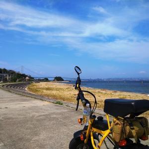 ディブラッシで淡路島を走ってみる