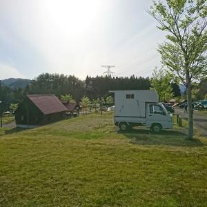 白神山地を目指して「新潟県 関川村の大石オートキャンプ村はちょっと異国情緒なキャンプ場」