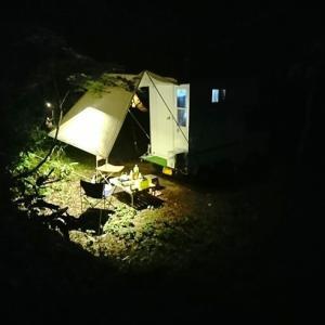 涼を求めて、平湯キャンプ場