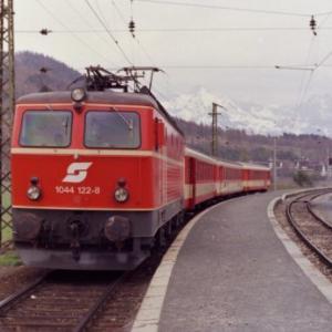 1990年代の欧州鉄道旅行・その1-2--1992年4月オーストリア・ウィーン周辺ほか