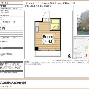 【家賃28,000円/敷金礼金0円☆】エレベーター有!近隣にはスーパーやコンビ二が有ります♪