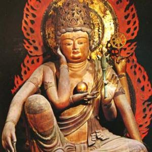 観心寺の秘仏・如意輪観音菩薩一年に2日だけの御開帳