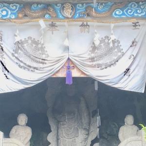 【ビックリ!】大阪・清水寺!大阪市で一ヶ所のみ天然滝で日輪出現!今日はお不動様の縁日!