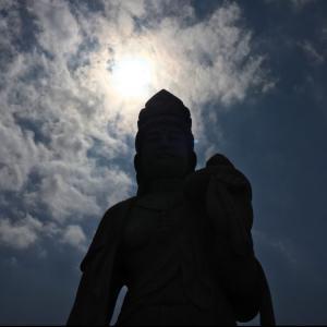滋賀県で1番高い山①伊吹山に登る前の恋慕観世音菩薩さま