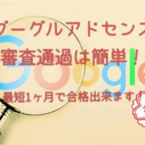 グーグルアドセンス審査通過のコツ!【保存版】1ヶ月で取得できます