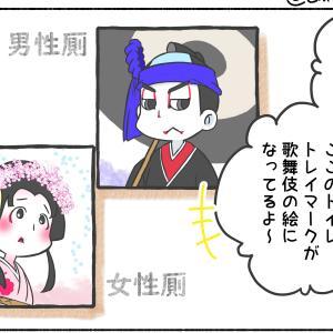 歌舞伎のトイレマークの疑問