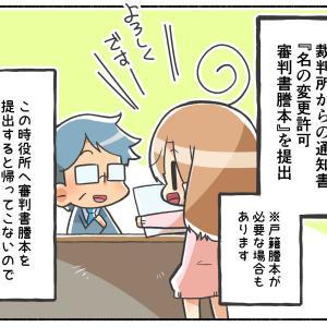改名エピソード/役所での手続き