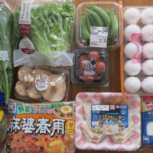 火曜市の買い物 休日の作り置き 朝食と昼食