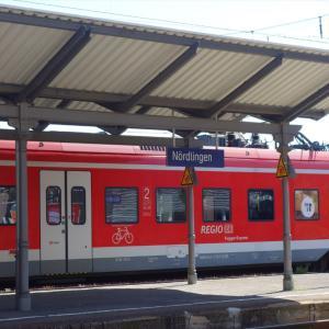 また乗継…ネルトリンゲンからローテンブルクへ