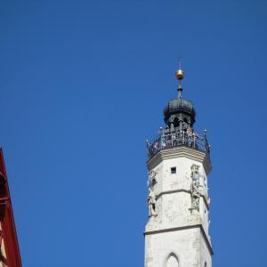 ローテンブルク~市庁舎のてっぺんで街を見渡す