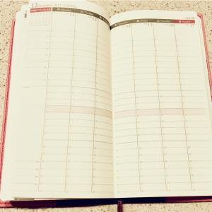 今年は24時間バーチカルタイプの手帳にお世話になりました
